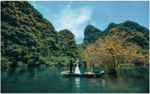 Chụp ảnh cưới đẹp tại Tràng An – Ninh Bình