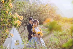 Chụp ảnh cưới đẹp tại Mộc Châu – Sơn La