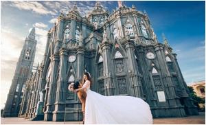 Chụp ảnh cưới đẹp tại Nhà thờ lớn Hà Nội