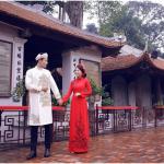 Chụp ảnh cưới đẹp tại Văn Miếu Quốc Tử Giám
