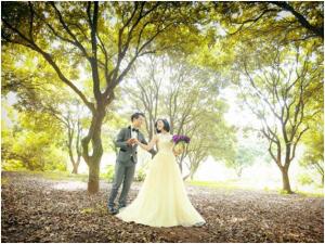 Chụp ảnh cưới đẹp tại Vườn nhãn Gia Lâm