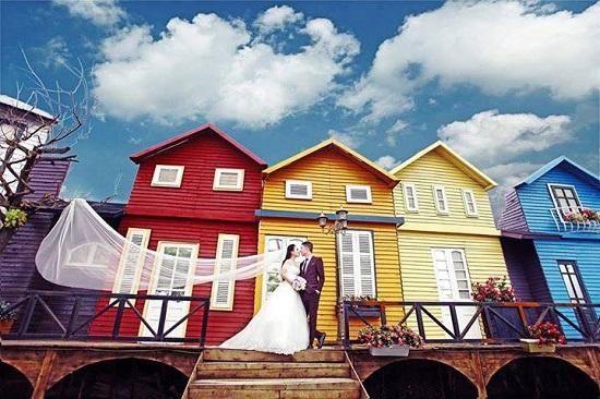 chụp ảnh cưới phim trường2