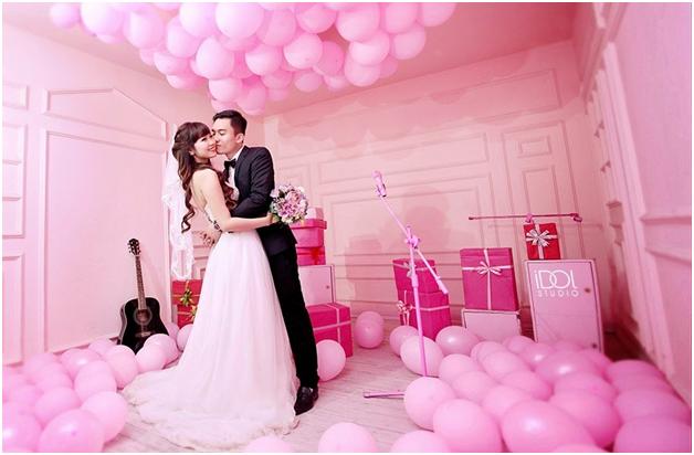 Chụp ảnh cưới trong nhà2
